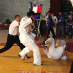 Championship of the CIS on fullcontact to hand-to-hand fight among juniors