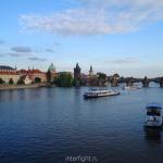 Прага, Карлов мост, река Влтава