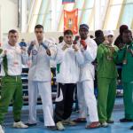 Команда Алжира и Нигерии.