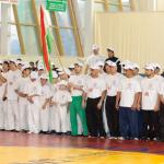 Команды Казахстана и Таджикистана
