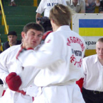 The opening junior\'s full contact fighting championship of CIS