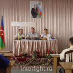 Judges seminar and tournament of full contact fighting. Azerbaijan.