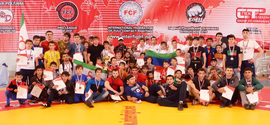 17-18 мая состоялся Всероссийский турнир по ПРБ-FCF-MMA