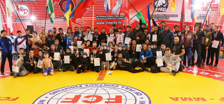 Отчет о Чемпионате и Первенстве Евразии по ПРБ FCF-MMA