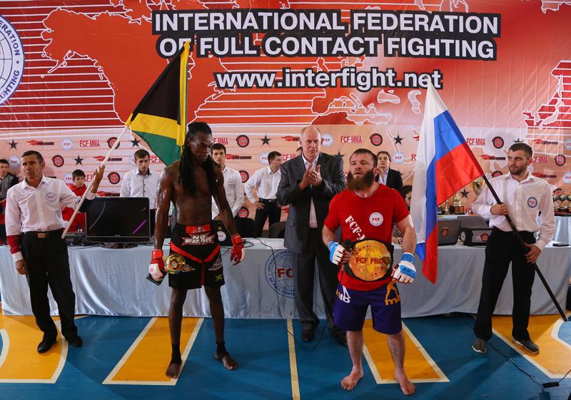 Видео Профессионального боя за титул Чемпиона Мира 2016 года по версии FCF-MMA