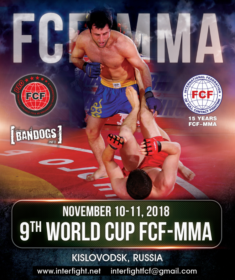 The 9th WORLD CUP FCF-MMA 2018