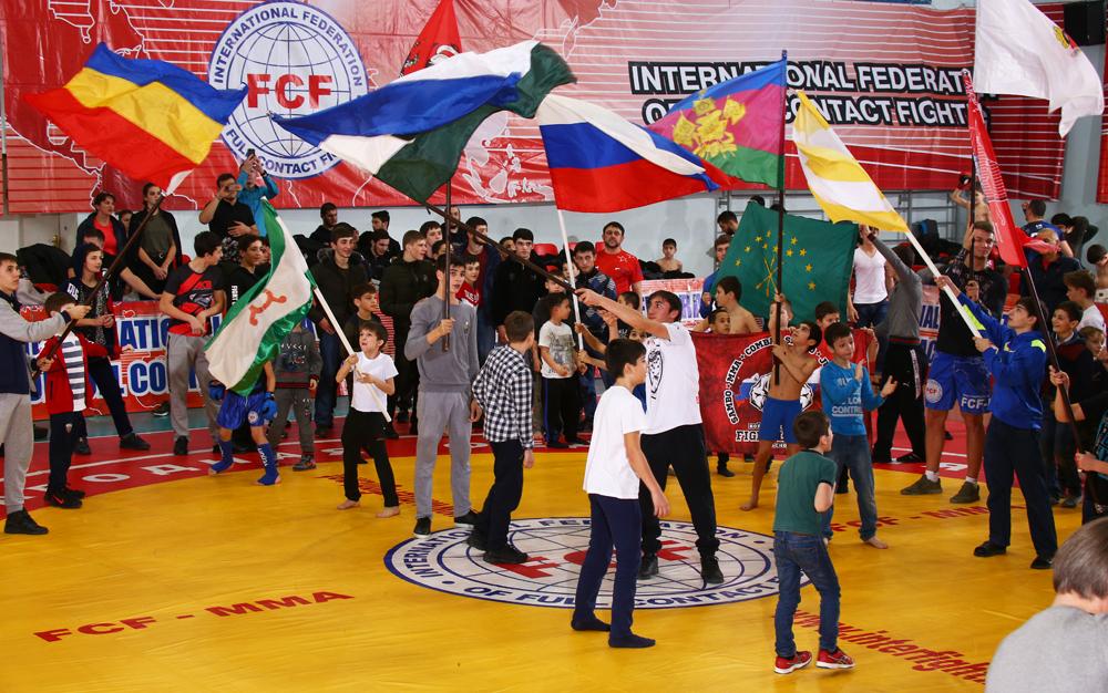 Отчет Чемпионат и Первенство России FCF-MMA 2018