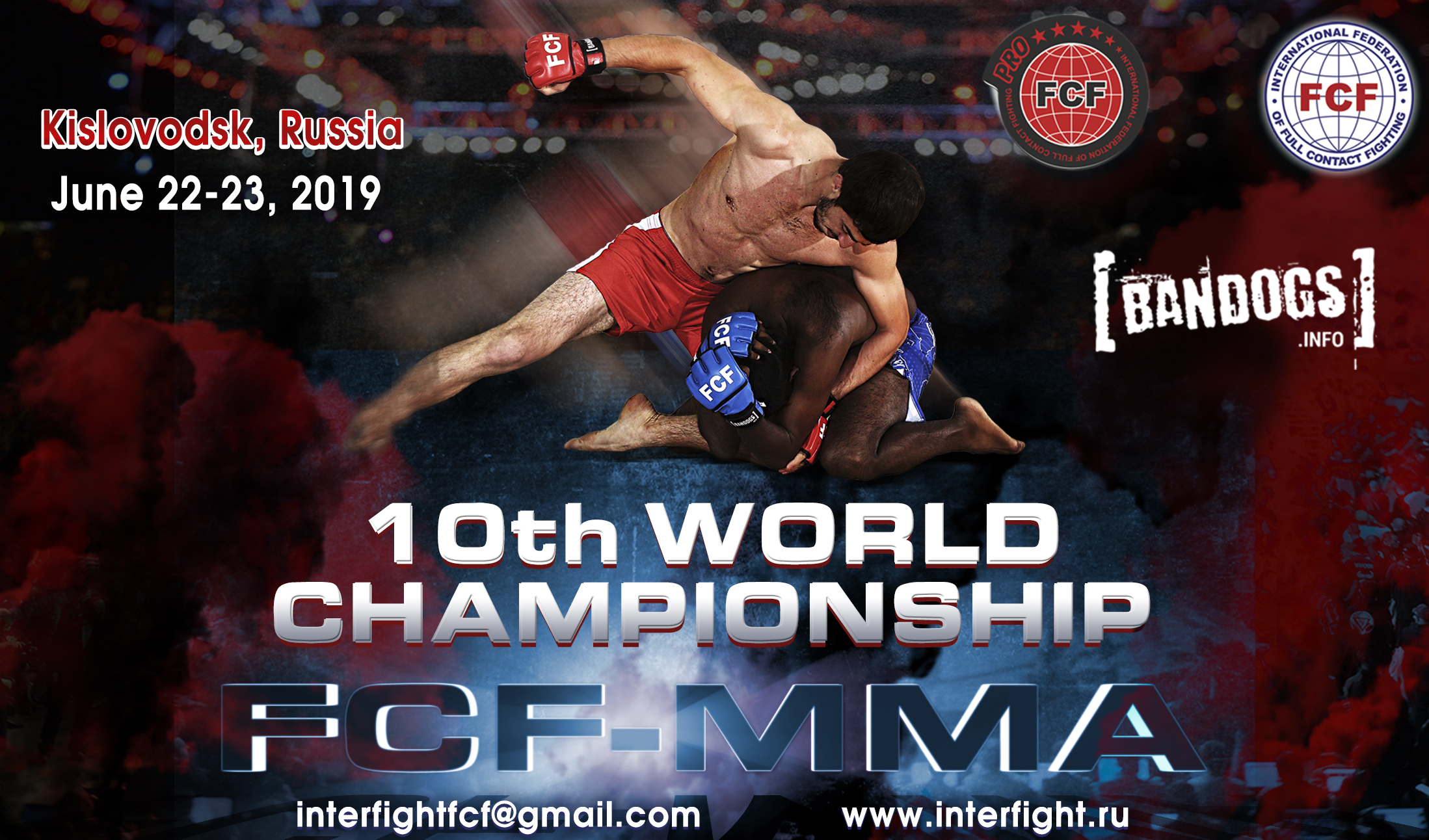 10th World Championship FCF-MMA 2019