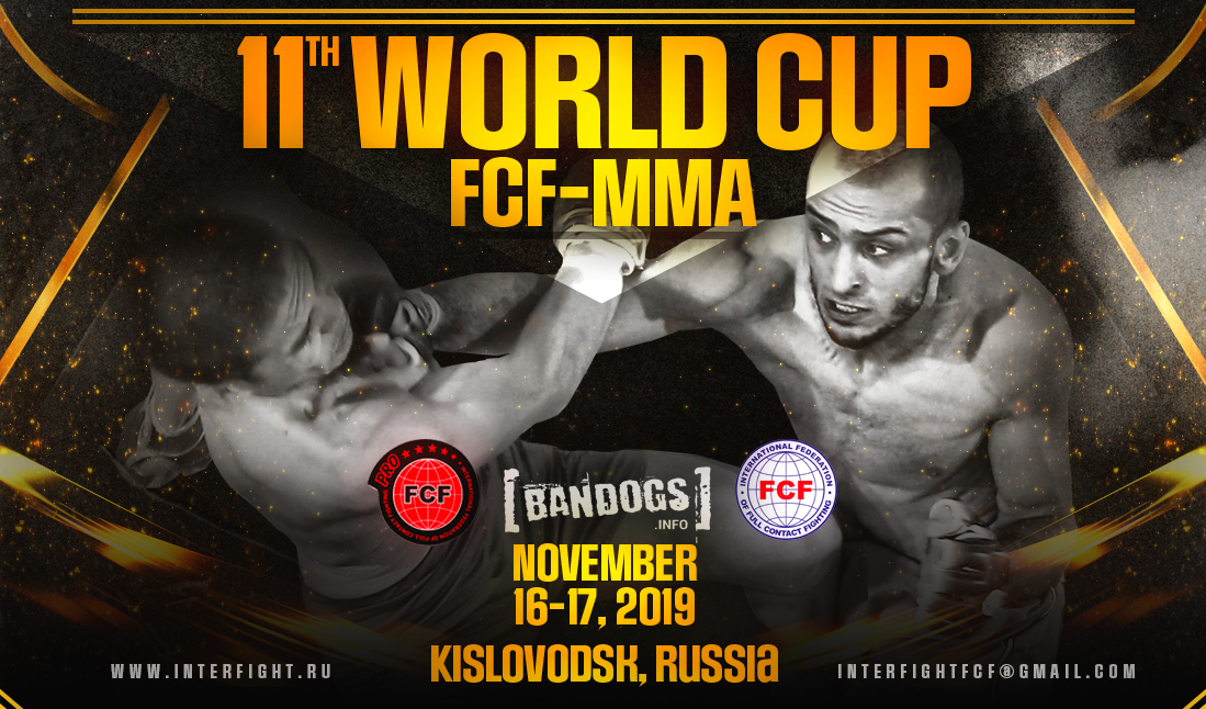 11th WORLD CUP FCF-MMA 2019