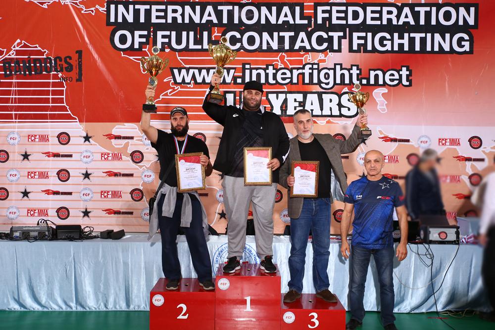 Отчет Всероссийский Турнир FCF-MMA 2019