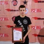 За самый короткий бой в 2016 году награжден Егор Дутка (Молдова)