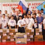 Первенство СНГ среди юниоров по ПРБ FCF-MMA 2004