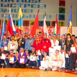 Championship of Eurasia among juniors in FCF-MMA 2007
