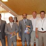 Прием у министра спорта Азербайджана