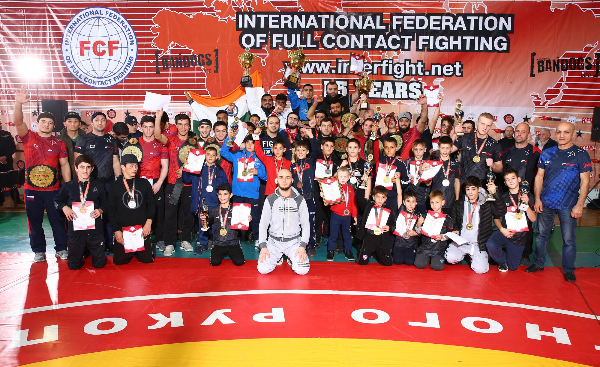 Report 11th WORLD CUP FCF-MMA 2019
